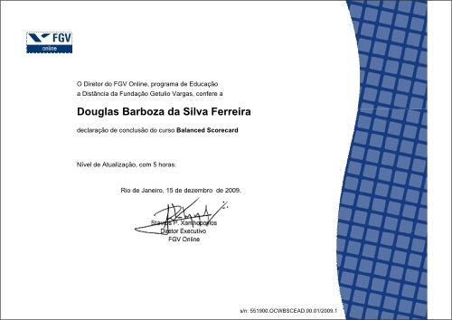 Diploma fgv
