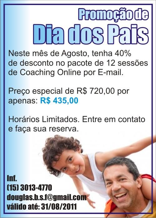 Coach Douglas Ferreira - Promoção de Agosto